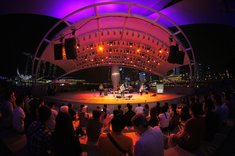 10. Enjoy free concerts at The Esplanade