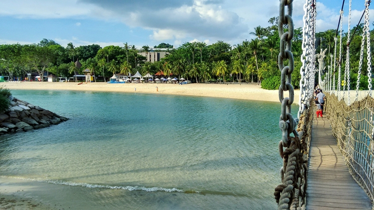 Get sunkissed at Sentosa